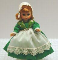 "Madame Alexander 8"" International Collectible Doll Ireland with box"