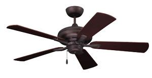 "Emerson CF772ORB 52"" Indoor Ceiling Fan Monterey II Oil Rubbed Bronze"