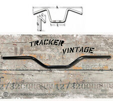 Manubrio Tracker Vintage Nero Lucido Comandi 22mm
