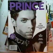 Music Spotlight collector's edition: PRINCE the legend remembered