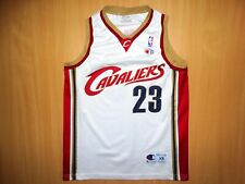 *CLEVELAND CAVALIERS 23 LeBron JAMES JERSEY NBA shirt XS CHAMPION USA basketball