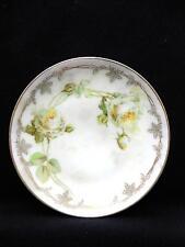 """Antique Plate ROSES Erdmann Schlegelmilch Suhl PRUSSIA 5 7/8"""""""