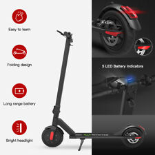 Megawheels S5 Foldable Aluminum E-scooter Black 250W 14MPH City Electric Scooter
