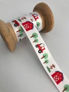 Great Quality Farm, Tractor Ribbon16mm wide in 3m, 5m or 10m cut lengths