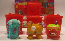 3 figuras * Trash Pack * serie 4 * lazos de basura * Preziosi * nuevo (w53)