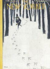 COVER ONLY ~New Yorker magazine November 30 1957 ~ KRAUS ~ Pilgrim hunts Turkey