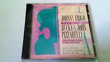 """JOHNNY FRIGO WITH BUCKY & JOHN PIZZARELLI """"LIVE FROM STUDIO NY"""" CD 14 TRACKS"""