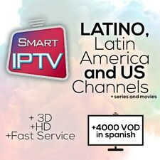 IPTV Latino Ask 4demo; Sports, PPV, VOD, USA and more 1 MONTH. M3Udevices or MAG
