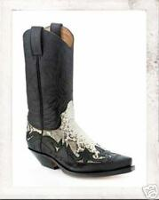 3241 Bottes python Sendra bottes boots western noir