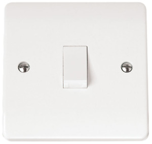 Scolmore Click Mode CMA622 20A DP Switch White