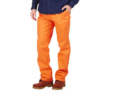 HARD YAKKA Foundations Men's Orange Work Pants Size 92R