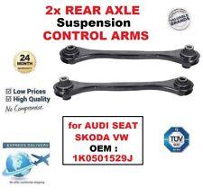 2x eje trasero izquierda y derecha Brazos De Control Para Audi Seat Skoda Vw