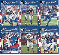 2016 Buffalo Bills Team Card Set 6 cards Don Russ-Panini