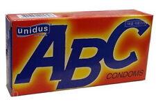 20PCS Unidus ABC Comdoms Fit Condom 10P Slicon Oil Real Super Ultra Soft New ene