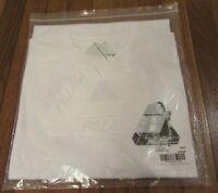 Palace U Figure Tee T-Shirt Size Large White Palace 2019 Release Brand New