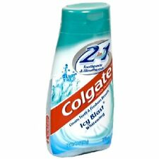 Colgate 2 in 1 Toothpaste & Mouthwash Icy Blast 4.6oz Each