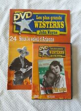 DVD SOUS LE SOLEIL D'ARIZONA JOHN WAYNE NO CELLO + FASCICULE