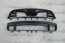 ANDERSON COMPOSITES 13-14 Mustang/GT500 Carbon Fiber Upper+Lower Grill/Grille