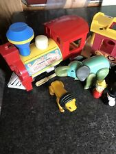 Vintage Fisher Price Circus Train