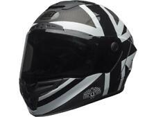 Casque Moto BELL Race Star Ace café Blackjack noir / blanc intégral XS DESTOCK