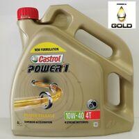 4T 10W40 Castrol Power 1 Motorad Motoröl 4 Liter