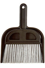 "Detailer's Choice 4B320 Whisk Broom and Dust Pan 5"" Wide for Car & Small Places"
