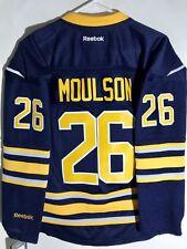 0fea2a505 Reebok Women s Premier NHL Jersey Buffalo Sabres Matt Moulson Navy ...