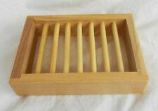 Platane Wood Box Style Soap Dish - BNIB