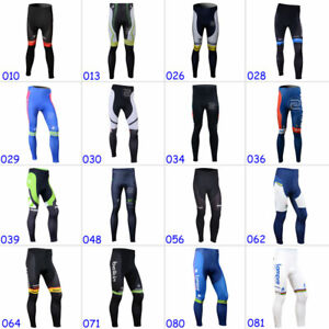 2021 New Cycling Pants Men's Outdoor Riding Bike Gel Pad Windproof Long Tights