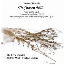 To Chosen Hill (Collins, West, Lyric Quartet) CD NEW