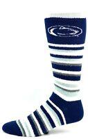 NCAA Penn Nittany Lions NCAA State Muchas Rayas Crew Fuzzy Socks