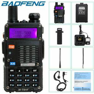 BAOFENG BF-F8HP 8W TRI-POWER TWO WAY HAM RADIO WALKIE TALKIE WITH ACCESSORIES AU