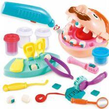 Children Doctor Toys Pretend Play Dentist Check Teeth Model Medical Kit Set