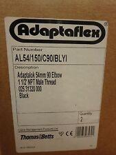 Thomas & Betts Adaptaflex  AL54/150/C90/BLYI    NEW  IN BOXES OF 2 each