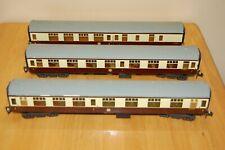 More details for 3 vintage lima o gauge converted coaches                         m76
