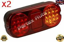 2PCS FOR JCB 2CX/3CX/4CX REAR TAIL LIGHT/LAMP UNIT (LED)