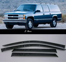 Chevrolet Suburban 1992-1999  Side Window Visors Sun Guard Vent Deflectors