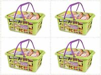 Kids Children's Shopping Basket Pretend Play Toy Shop Food Accessories Xmas Gift