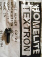 NEW HOMELITE SUPER EZ HOUSING SCREW P/N  80704