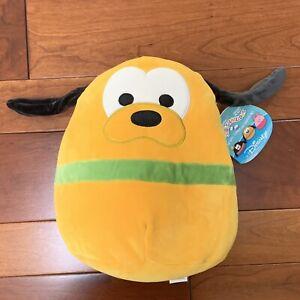 "Squishmallow Pluto 10"" PLUSH Kellytoy Disney BRAND NEW With Tags!"