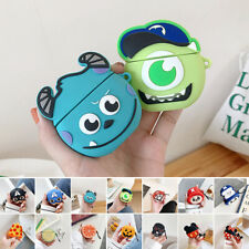For Apple Airpods Earphone Protective Cover Cute Cartoon Silicone Charging Case