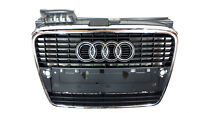 NEW AUDI A4 FRONT GRILLE PSC WITH CHROME TRIM SALOON ESTATE CABRIOLET 2004-2008