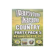 Party Tyme Karaoke: Country Party Pack 5 , 64 Songs (New & Sealed)