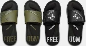 Under Armour Men's UA Ignite Freedom Slides Sandals - Many Colors and Sizes