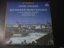 ANNIE FISCHER BEETHOVEN PIANO SONATAS LP RECORD ANGEL S 35791