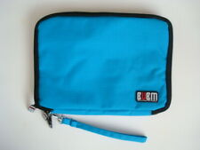 Electronics Travel Organizer Accessories Bag with Handle Aqua Blue NEW!