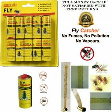 More details for 🔥 fly insect catcher paper sticky glue strong roll bug trap killer tape strip