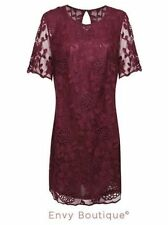 Lace Clubwear Machine Washable Floral Dresses for Women