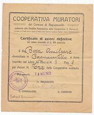 W931-AZIONI-COOP MURATORI BAGNACAVALLO