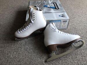 Jackson Mystique Ladies White Ice Skates Eur 34.5